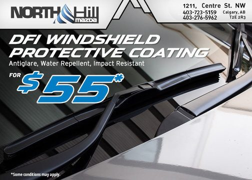 DFI WINDSHIELD PROTECTIVE COATING SERVICE OFFER