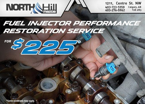 FUEL INJECTOR PERFORMANCE RESTORATION SERVICE OFFER